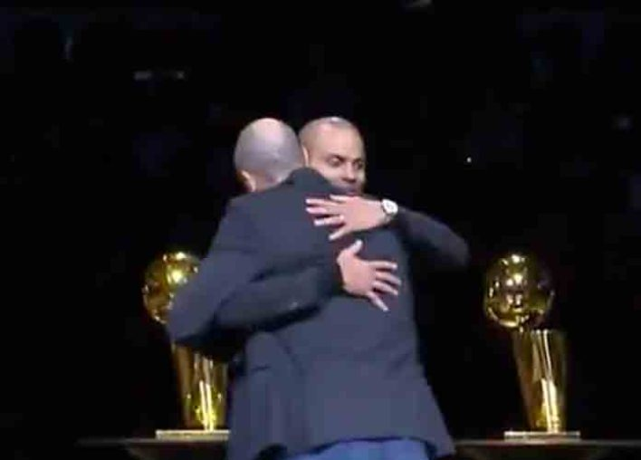 Manu Ginobili, Tim Duncan Honor Tony Parker With Touching Speeches In Jersey Retirement Ceremony [VIDEO]