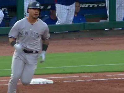 Yankees Rookie Gleyber Torres Homers Twice In 10-5 Win Vs. Rangers [VIDEO]