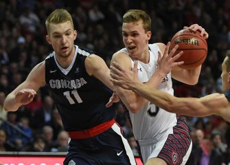 Gonzaga's 85-75 Victory Over St. Mary's Bad News for Syracuse