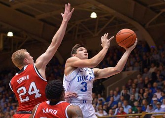 Watch: Duke's Grasyon Allen Shoves NC State Player In Blue Devils' 84-82 Loss