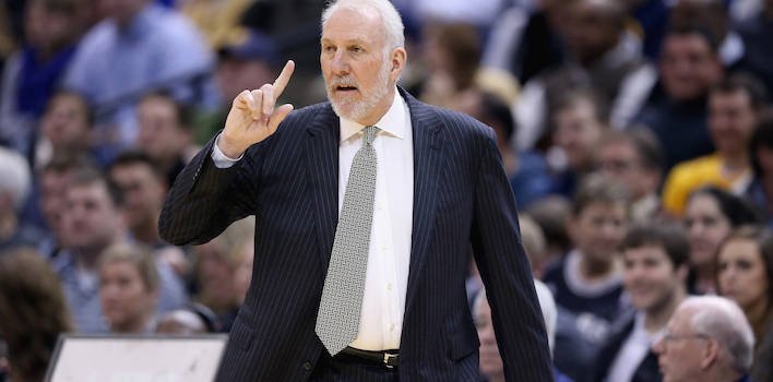 Gregg Popovich Makes Joke About Firing Of David Blatt After Cavaliers' Loss To Warriors,