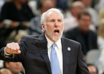Gregg Popovich Rips Zaza Pachulia For Play On Kawhi Leonard After Spurs' Game 1 Loss To Warriors