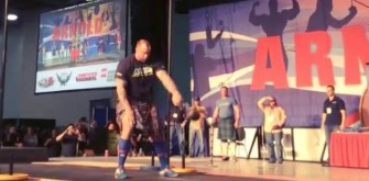 'Game of Thrones' Star Hafthór Björnsson Breaks Another World Record