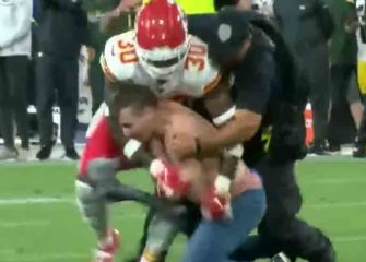 Chiefs' Harold Jones-Quartey Tackles Shirtless Fan On Field During 27-20 Preseason Loss To Packers [VIDEO]