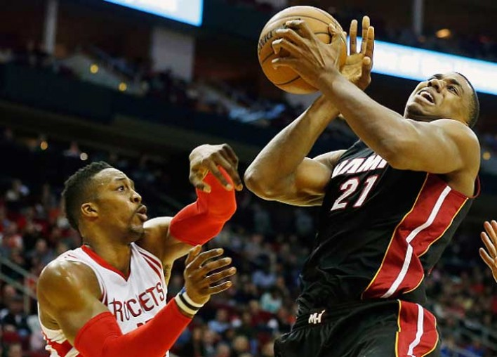 Hassan Whiteside Scores 23 Points To Lead Heat To 117-109 Win Over Rockets