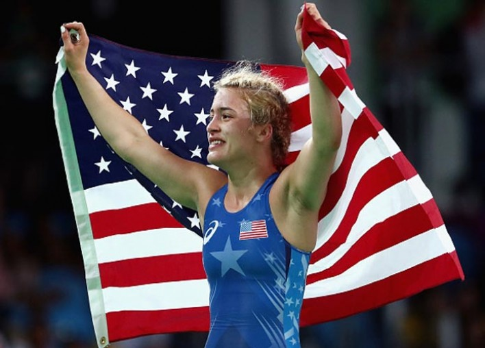 Helen Maroulis Beats Japanese Star For First Gold In U.S. Women's Wrestling History