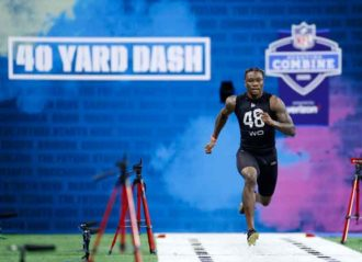 NFL Combine Highlights: Henry Ruggs III Sets 40-Yard Dash Record