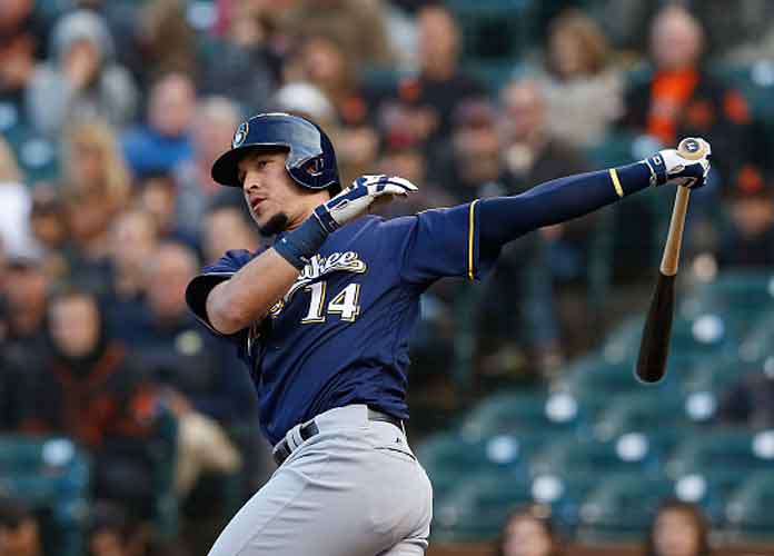 Watch: Brewers' Hernan Perez Hits Solo Homer In Dodgers' First Series Loss Since Early June