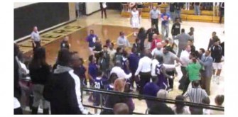Indiana High School Basketball Game Ends In Fan Brawl
