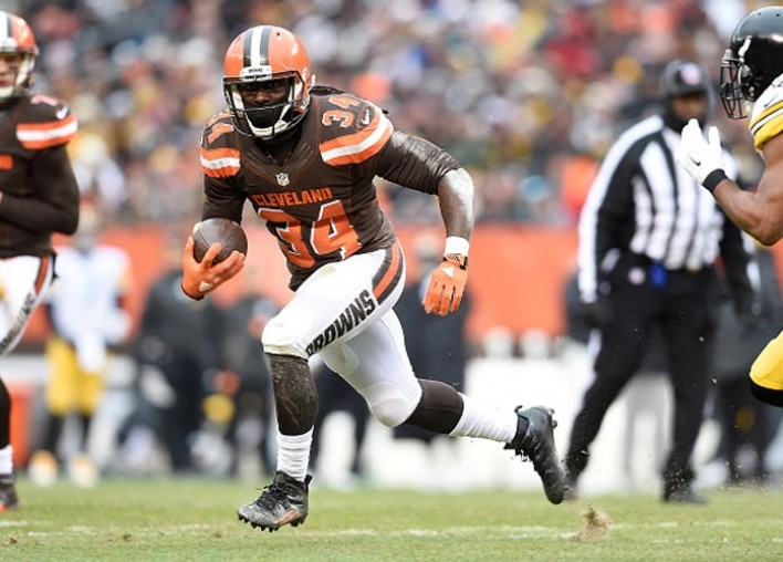Browns RB Isaiah Crowell To Donate Game Check To Police Charity