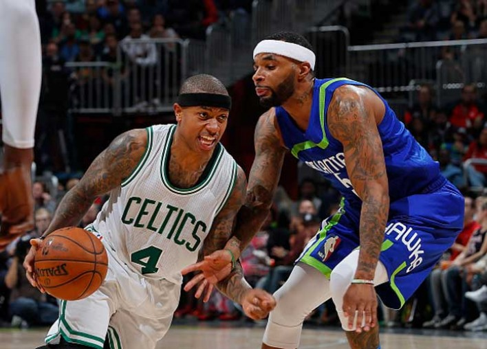 Celtics Drop 1 1/2 Games Behind Cavaliers For NBA East Lead With 123-116 Loss To Hawks