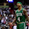 Isaiah Thomas Wears Green & Gold Shoes, Gets Emotional In Return To Celtics After Tribute [VIDEO]