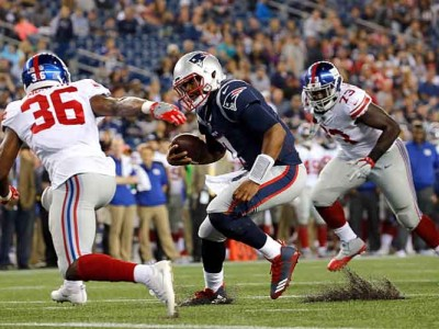 Watch Highlights: Giants Beat Patriots 40-38 To End Preseason