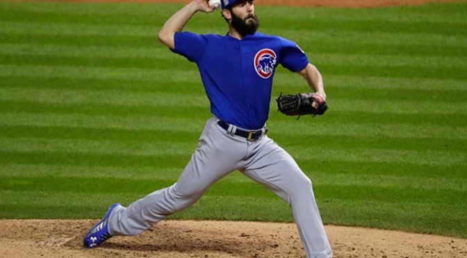Jake Arrieta Carries Cubs To 5-1, World Series Game 2 Win Over Indians
