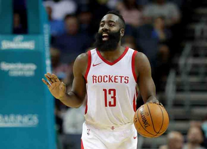 James Harden Has Historically Bad Night But Matches 2006 Kobe's 16-Game Streak Of 30-Point Games [VIDEO]