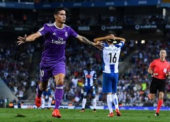 James Rodriguez, Karim Benzema Lead Real Madrid To 2-0 Win Over Espanyol