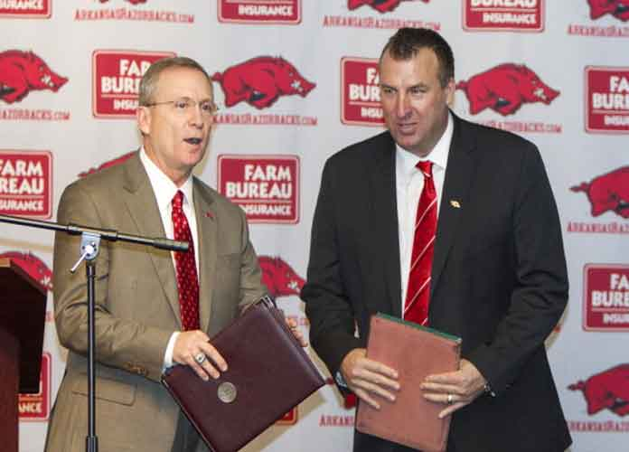 Arkansas Fires AD Jeff Long; Football Coach Bret Bielema Could Be Next