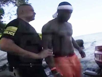 WATCH: Arizona Cardinals Jermiah Braswell Arrested After Driving Into Lake Erie Intoxicated, Released By Team