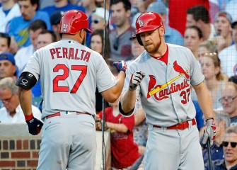 Brandon Moss, Jhonny Peralta Lead Cardinals Past Cubs 3-2
