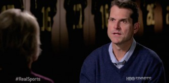 Jim Harbaugh Proves His Craziness During 'Real Sports' Interview