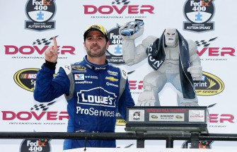 Jimmie Johnson Makes NASCAR History with 10th Dover Victory