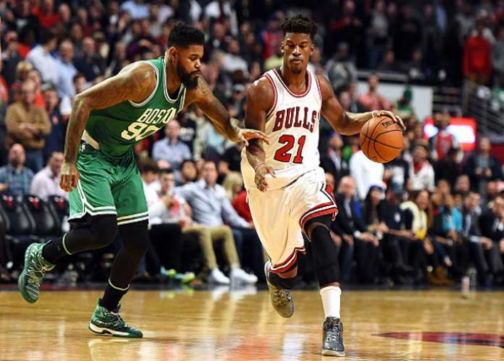 Dwyane Wade, Jimmy Butler Lead Bulls To 105-99 Win Over Celtics