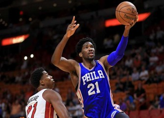 Sixers' Joel Embiid Warns Justise Winslow And Heat He Will Be A 'Nightmare' During Playoff Series