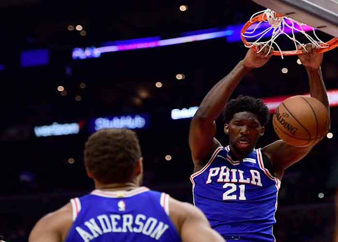 76ers' Joel Embiid Doubtful For Game 5 Against The Wizards