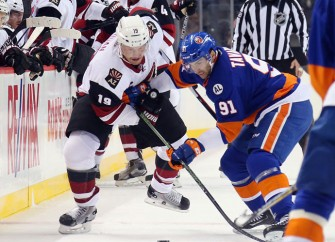 John Tavares Nets Two Goals To Lead Islanders Over Coyotes