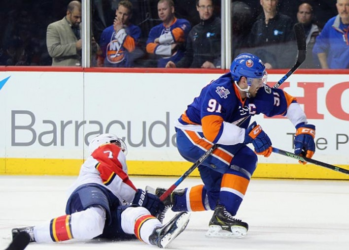 John Tavares Shunned In Return To Long Island