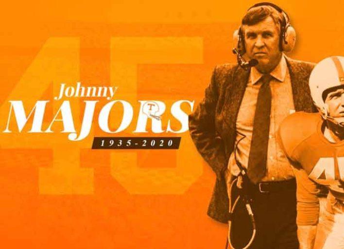 Johnny Majors, Legendary Tennessee & Pitt Football Coach, Dies At 85