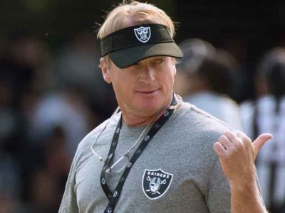 Jon Gruden Faked COVID-19 Diagnosis To Scare Raiders' Players