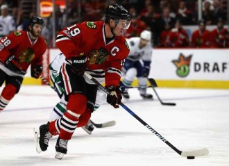 Chicago Blackhawks Upset the First Place Boston Bruins In Overtime 4-3