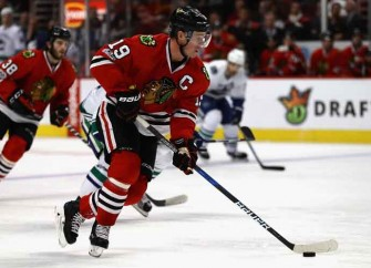 Jonathan Toews Lifts Blackhawks To 4-3 Win Over Wild With OT Goal