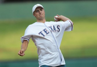 Jordan Spieth, Zach Johnson Bet $5000 On Who Would Throw The Better First Pitch