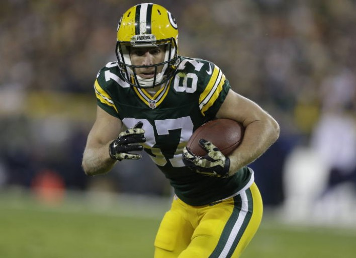 Jordy Nelson Was Dumped By His Wife During Seventh Grade