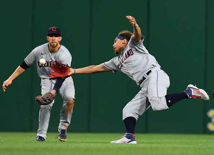 Cleveland Indians Outfielder Josh Naylor Suffers Scary Injury