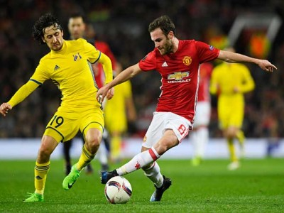 Watch Highlights: Juan Mata Lifts Manchester United To 1-0 Europa League Win Vs Rostov