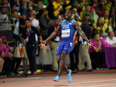 Justin Gatlin Confused By London Crowd's Boos After Win Vs. Usain Bolt At IAAF World Championships