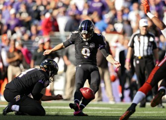 Justin Tucker Misses Field Goal Because Of Poor Turf Problem