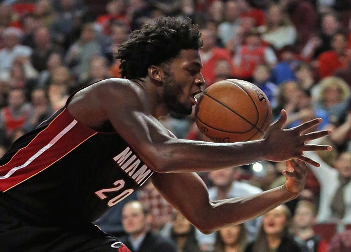 Heat's Justise Winslow Serves Up Amazing Euro-Step in Game 1 Win Over Hornets
