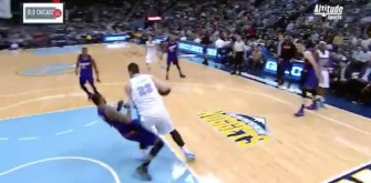 Nuggets' Jusuf Nurkic Gets Technical For Taunting a Flopping Player