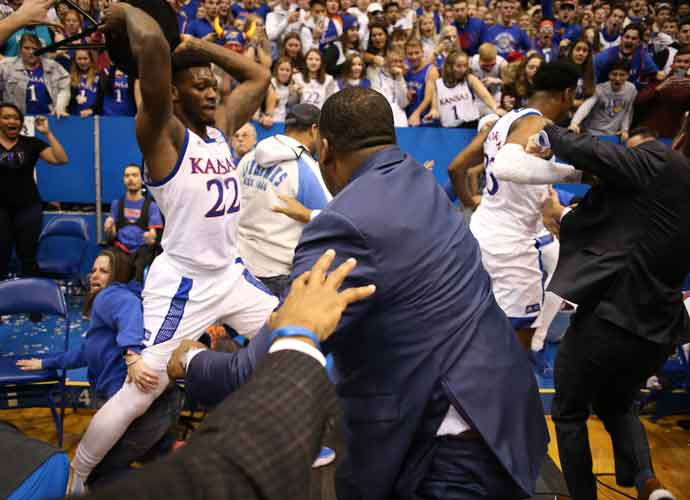 Big 12 Suspends Players Involved In Kansas Vs. Kansas State Brawl