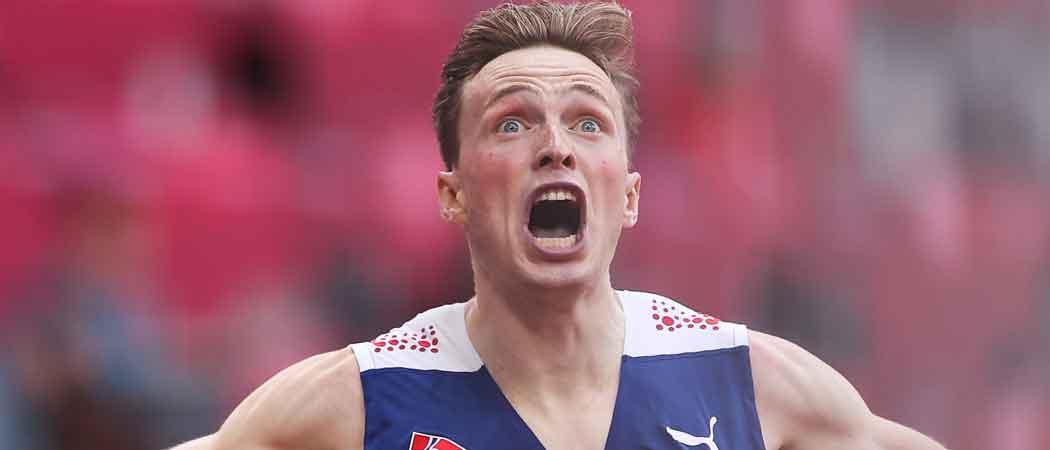 Karsten Warholm Wins 400-Meter Hurdles, Sets World Record, Rips Shirt To Celebrate