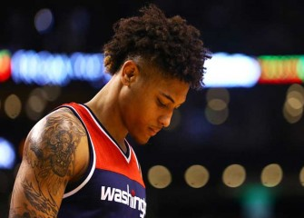 Watch: Wizards' Kelly Oubre Ejected From 116-89 Game 3 Win Vs Celtics For Shoving Kelly Olynyk