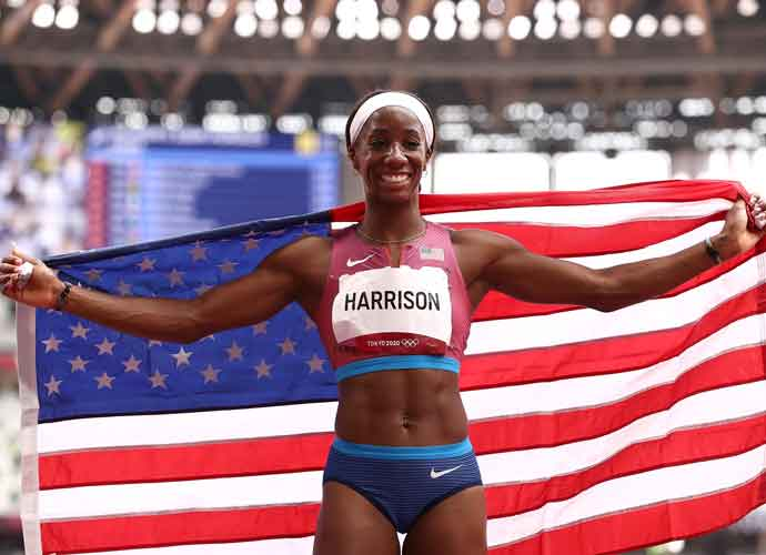 Keni Harrison& Gabi Cunningham Shine In Olympic Track & Field
