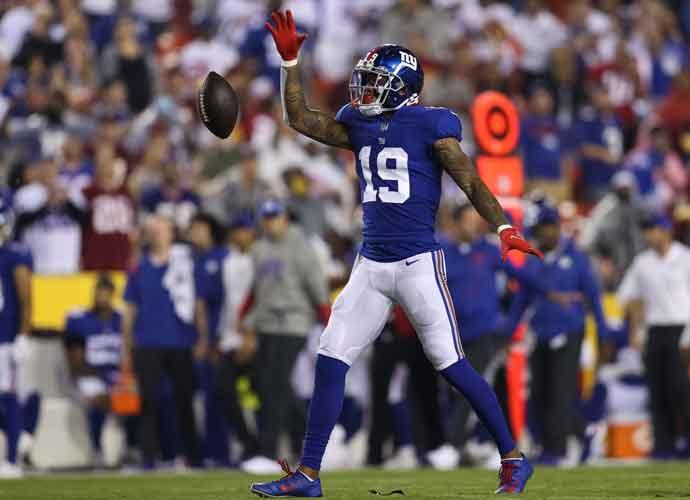 Giants' QB Daniel Jones & Kenny Golladay Work Through Late Game Frustrations