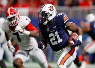 Auburn RB Kerryon Johnson Named SEC's Offensive Player Of The Year