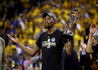 Watch Highlights: Kevin Durant, Warriors Beat Cavs 129-120 In Game 5 For NBA Championship