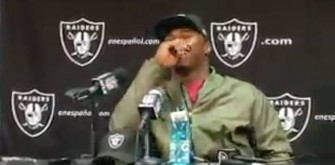 Oakland Raiders' QB Derek Carr Interrupts Khalil Mack's Press Conference